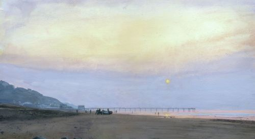 'Saltburn Summer Evening.'