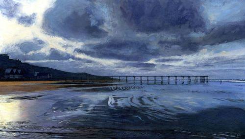 'Saltburn, Winter Afternoon.'