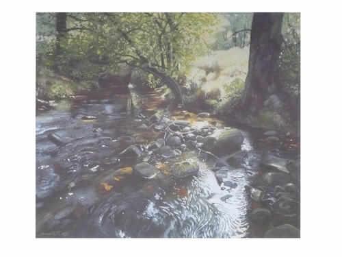 River Esk print.