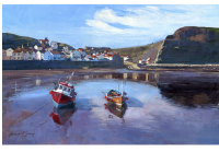 'Staithes Harbour'