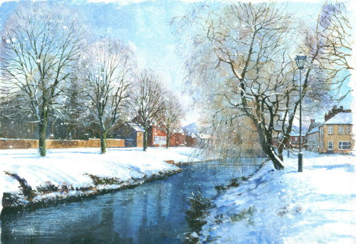 'Great Ayton, Winter'