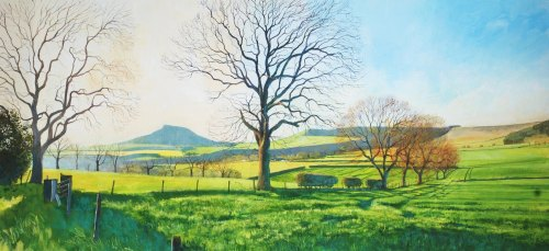 'Roseberry Topping From Dikes Lane.' SOLD OUT