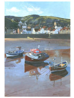 'Staithes Boats #2'  SOLD OUT