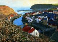 'Staithes from Cowbar'