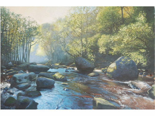 'River Esk, Autumn Morning'