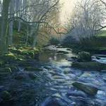 4.0. West Beck. Acrylic. 2013. 360 x 260mm.