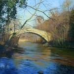 6.0. Begger's Bridge. acrylic. 2013  260 x 160 mm.