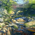 20.0 Bridge,Beck Hole. Acrylic. 2013  600 x 420mm