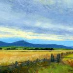 WE2016 7.0 'Roseberry Topping, from near Pinchinthorpe' 2014 Acrylic 160 x