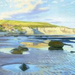 112 'Robin Hood's Bay' oil. 2019 360mm x 230mm