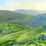 1114 'Upper Swaledale' acrylic 2019 360mm x 260mm