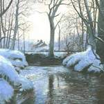 18. Farndale Snow. Acrylic. 310 x 220mm. 2010