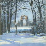5. Guisborough Priory #1, Acrylic. 2010. SOLD