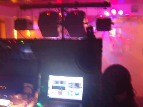 smokey disco gig 1