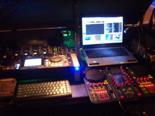 super techno dj console