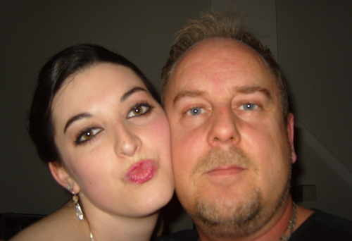 DJ Mike and kissy girl