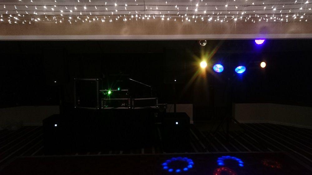 A1 mobile disco Felbridge hotel Christmas 2015