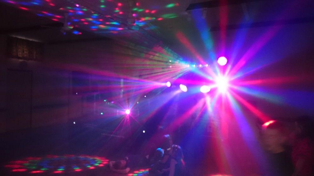 A1 mobile disco light shot 2016 2