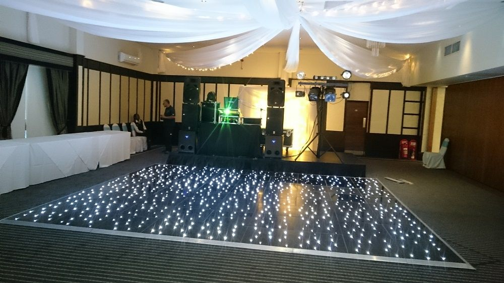 A1 mobile disco starlit dancefloor