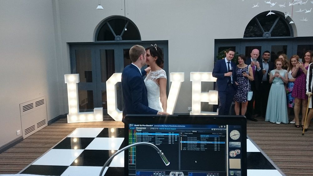 A1 mobile disco wedding love couple