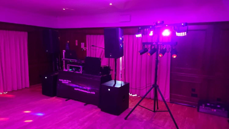 Cisswood house gig 2018 regular show Cloud And Sun DJ Services