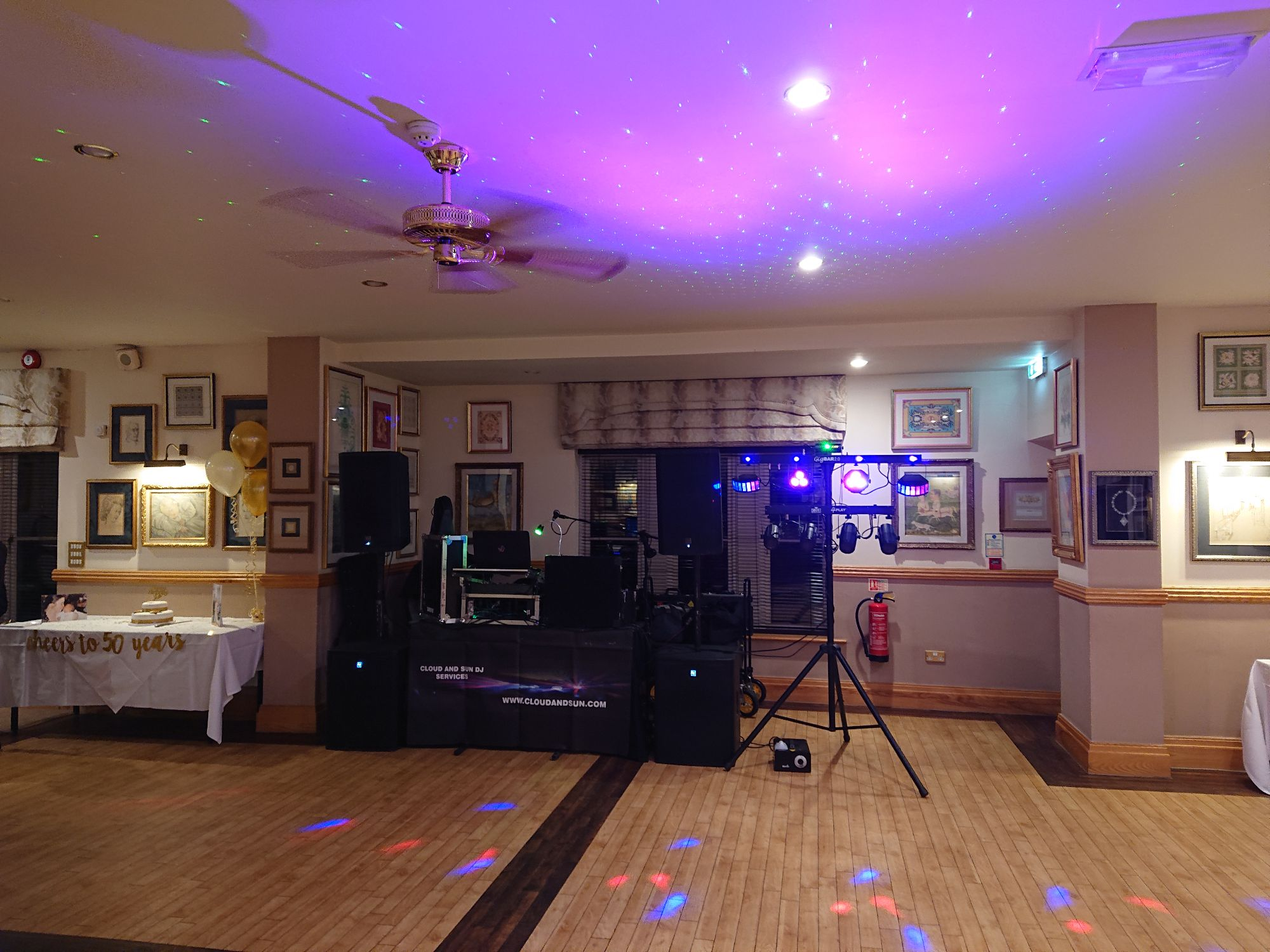 cowdray park golf club pre gig 2019