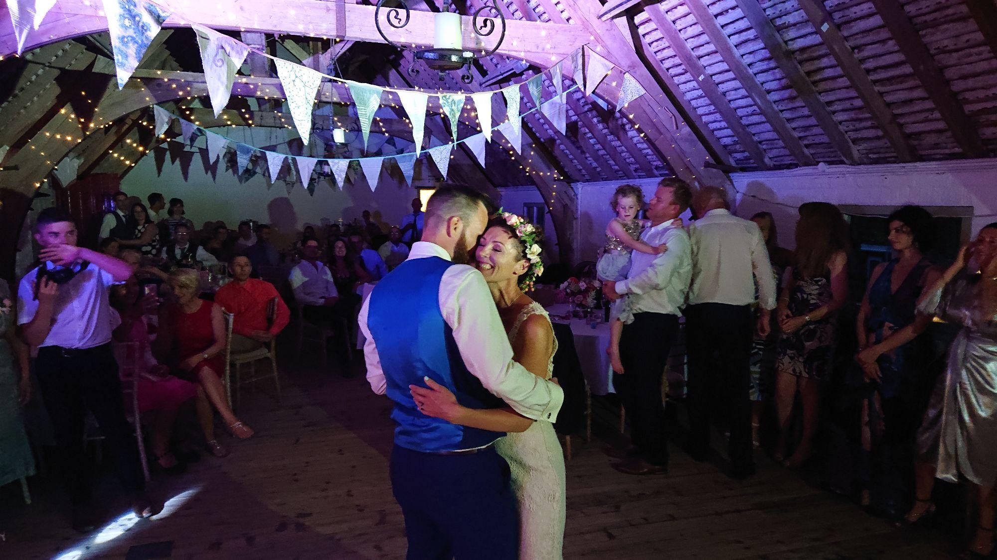 South Stoke Farm Arundel Wedding Couple 2