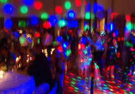 Full Colour dance floor LED Splash