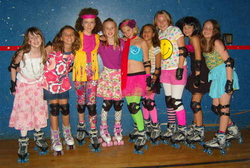 Roller party girls 1