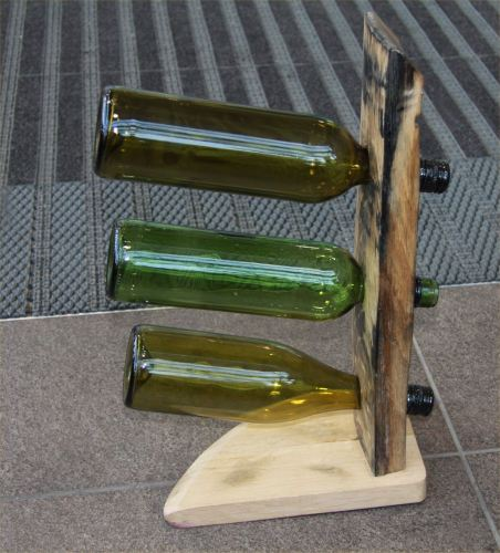 Wine rack three bottle