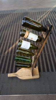 Wine rack six bottle