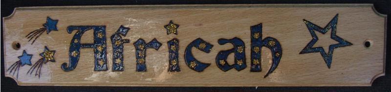 stella (africah plate)