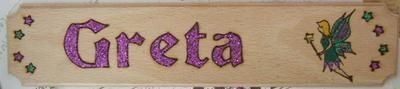 Fairy Name Plate