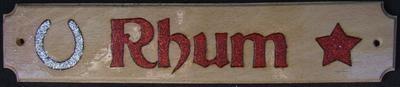 Rhum Plate