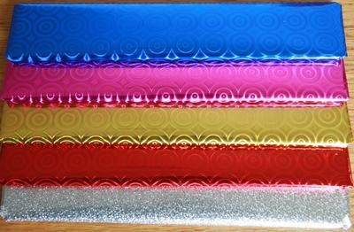 Wrapping paper - various colours