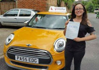 driving lessons windsor - lauren