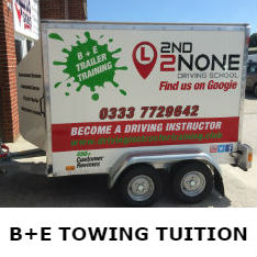 B+E Car & Trailer Towing Lessons