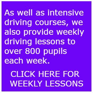 One Week Intensive Driving Courses Tiverton