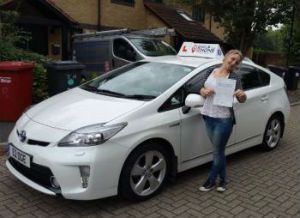 Rated driving lessons Slough