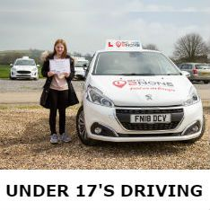 Under 17's Driving Lessons in Falmouth