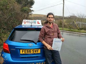 Structured driving lessons Weymouth