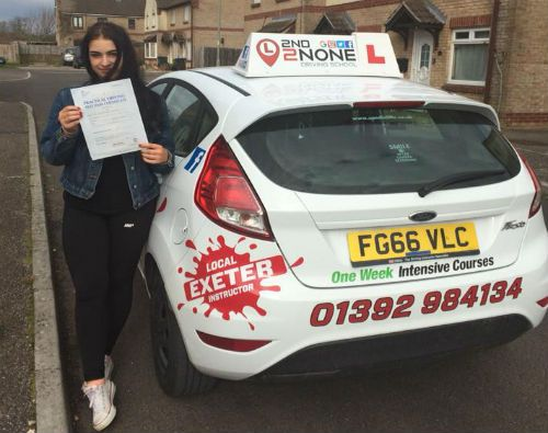Structured driving lessons in Tiverton
