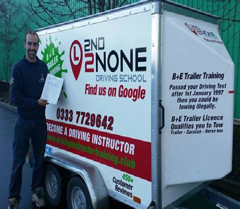 B+E Towing Lessons Blandford Forum