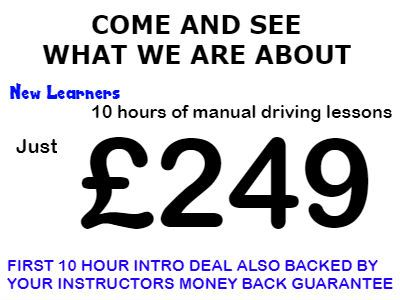 Local Driving Lessons