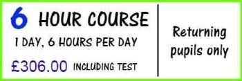 The best intensive driving instructor in Warminster