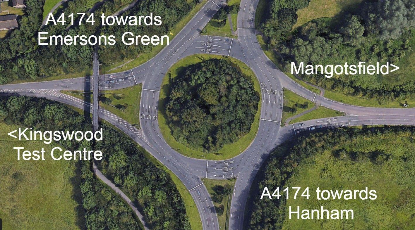 Siston Hill Roundabout