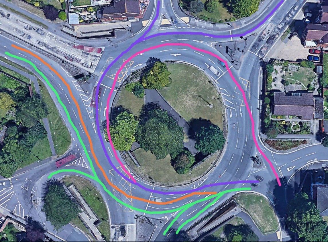 St Marks Roundabout Salisbury