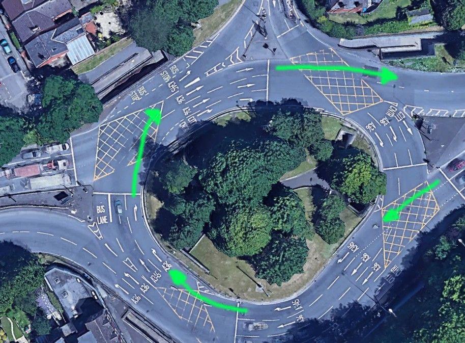 Castle Roundabout Salisbury
