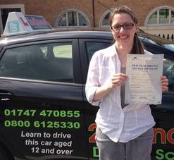 Driving Lessons Shaftesbury, Sophie Gass-Brown