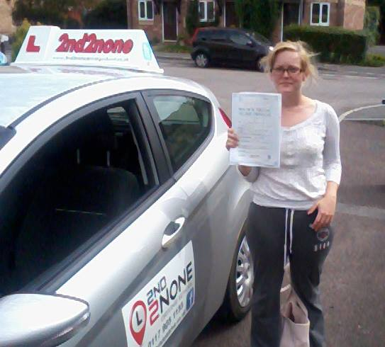 Abigail Littlton, Driving Lessons in Bristol